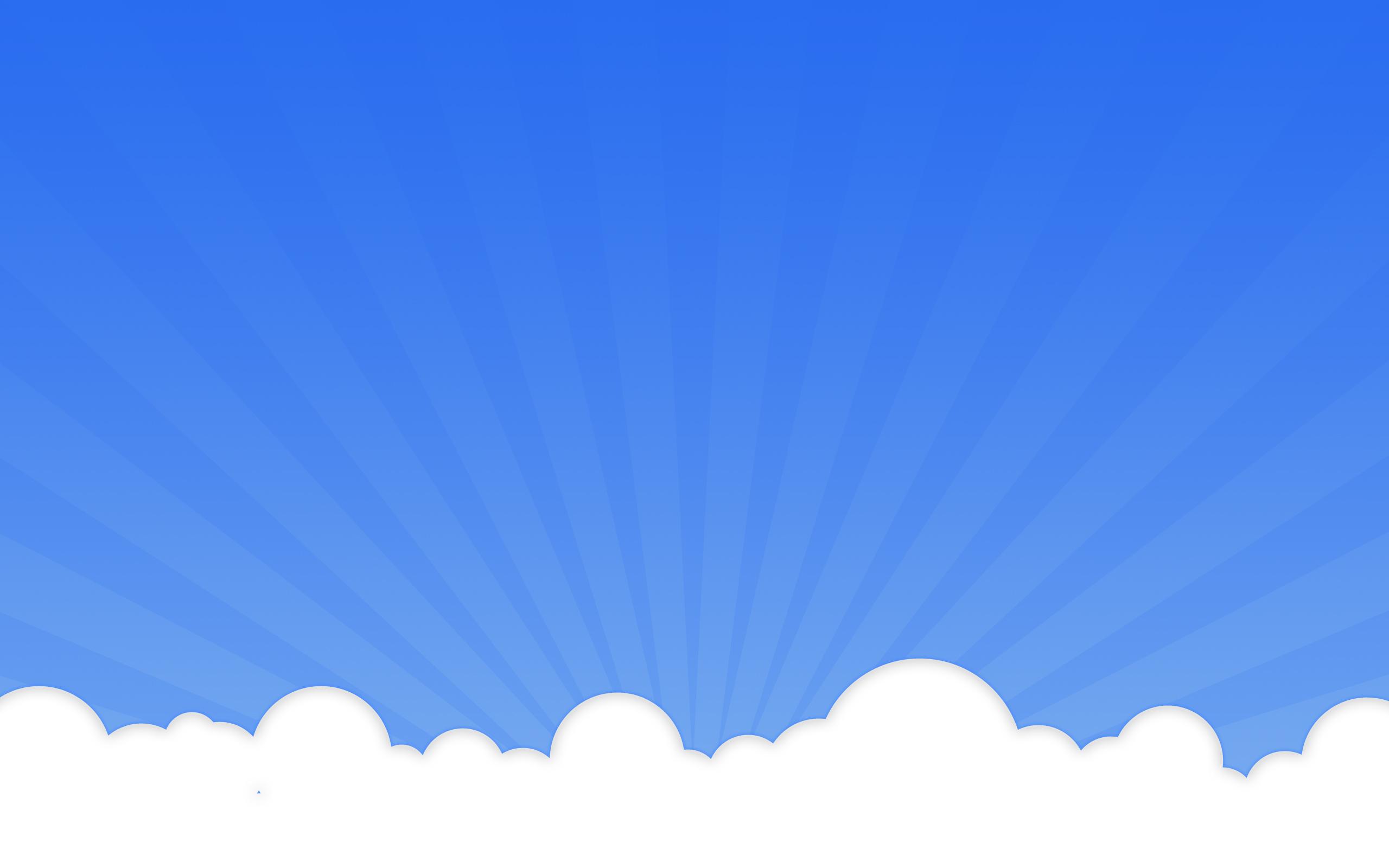 Белый фон голубой