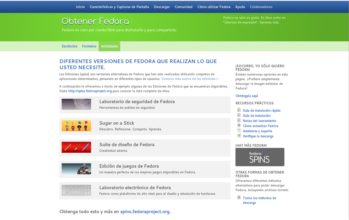 project fedora Fedora is always free for anyone to use, modify, and distribute it is built and used by people across the globe who work together as a community: the fedora project want more fedora options the fedora community also releases arm images, alternate live spins, and other variations of fedora tailored to specific requirements.